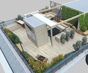 Зелёные крыши - декорирование и озеленение в Новосибирске от RAMDA