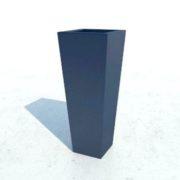 Эскиз синего кашпо Токио в Новосибирске от RAMDA