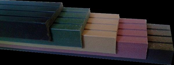Уголок ДПК (древесно-полимерный композит) для террасной доски в Новосибирске от RAMDA