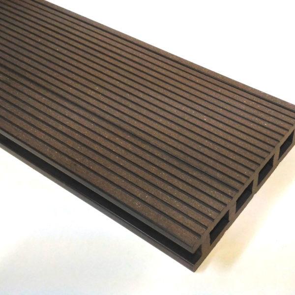 Террасная доска ДПК креплёная 150x30 Шоколад в Новосибирске от RAMDA