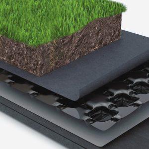 Материалы для зеленых крыш
