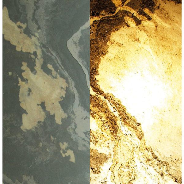 Прозрачный каменный шпон Rustique