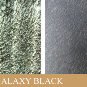 Прозрачный каменный шпон Galaxy Black