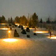 Освещение паркова зона столбы 2-2
