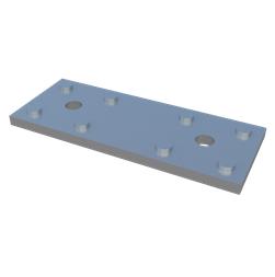 Пластина алюминиевая крепежная Level Plate