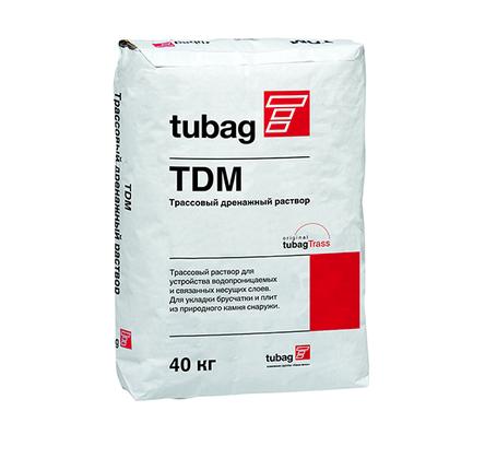 quick-mix tubag TDM дренажный бетон