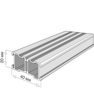 Лага Level LINE FLAT 20x40x4000 от RAMDA.RU